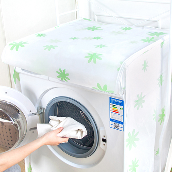Waterproof Sunscreen Washing Machine Cover Waterproof Case Washing Machine Protective Dust Jacket Front Open cubierta lavadora in Washing Machine Covers from Home Garden