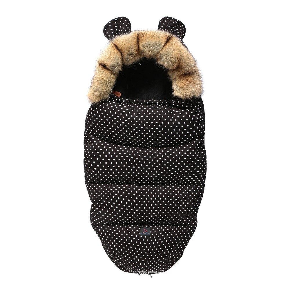 Winter Baby Stroller Footmuff Sleeping Bag Yoya Plus Polyester Warm Envelope Outdoors Baby Sleeping Bag Suitable Most Strollers