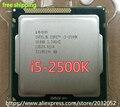 Intel i5 2500 k processador quad-core 3.3 ghz lga 1155 tdp: 95 w 6 mb de cache com hd graphics i5-2500k (trabalhando 100% Frete Grátis)