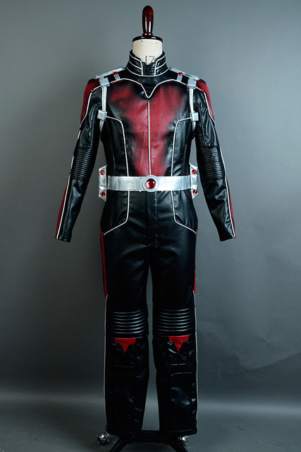 Movie Ant-Man Cosplay Costume Ant Man Uniform Outfits Jumpsuit Superhero Halloween Cosplay Costume Custom Made