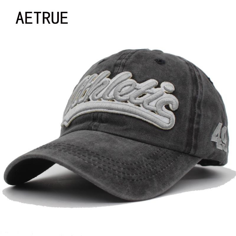 AETRUE 100% Cotton Baseball Caps Men Women Snapback Cap Hats For Men Brand Bone Casquette Vintage Gorras Dad Baseball Hat Cap hand rose embroidery baseball cap cotton casual hats for men women bone snapback caps gorras casquette