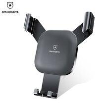SmartDevil гравитационный слот автомобильный держатель телефона для iPhone 7 Держатель подставка GPS для Samsung S8 S9 мобильный телефон Holde