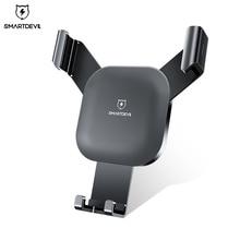 Smartdevil重力スロット自動車電話ホルダーiphone 7マウントホルダースタンドgpsサムスンS8 S9携帯電話holde