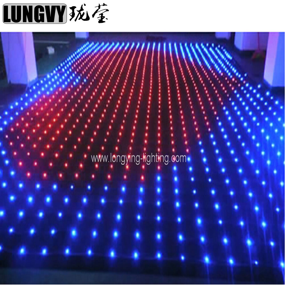 Us 828 0 10 Off 3 5m 4 P18 Dj Booth Stage Lighting Dmx512 Control Lights Hi Quality Led Disco Light Video Curtain In Effect