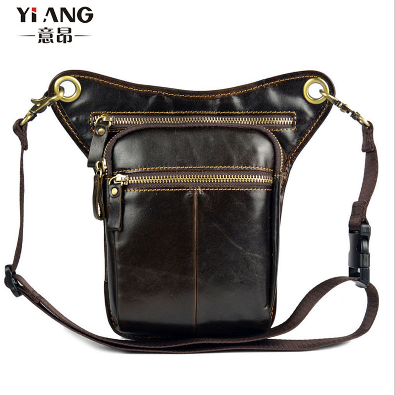 Men Oil Wax Genuine Leather Vintage Drop Leg Bag Cross Body Messenger Shoulder Fanny Pack Waist Thigh Motorcycle RidingMen Oil Wax Genuine Leather Vintage Drop Leg Bag Cross Body Messenger Shoulder Fanny Pack Waist Thigh Motorcycle Riding