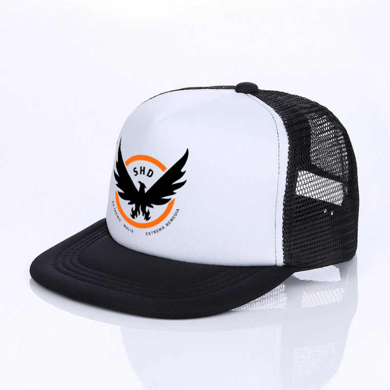 ff8cd0d91b8 ... Hot Sale Game Airsoft Cosplay Baseball Cap The Division Tom Clancy's  Snapback Hats Cool SHD Eagle ...