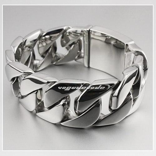 925 пробы Серебряный 7 мм круглый крутой браслет для мужчин винтажный панк рок Тайский ручной работы мужские ювелирные изделия - 2