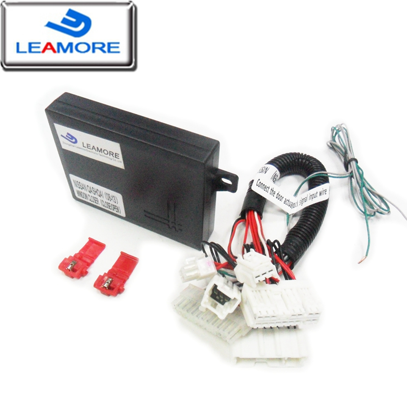 Car auto power window closer module for qashqai 08-13 car security window closing opening automatically free shipping