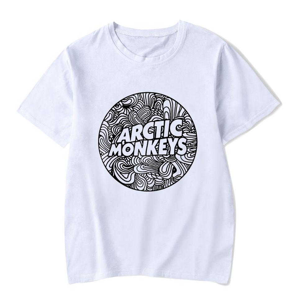 Arctic Monkeys Casual   T     Shirt   Women Funny Rock Music Fashion High Quality Streetwear Harajuku Lady Tee   Shirt   Femme