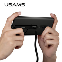 USAMS Type C Cable 1.5A Fast Charging USB C Cable Game USB Wire 180 Degree U-Shaped Braided Data Sync Cord for Samsung Note 9 S8