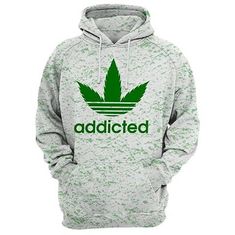 2020 New Popular Cool Addicted Hoodies Men Women 3D Print Comfortable Streetwear High Quality Casual Pullover Drop Shipping