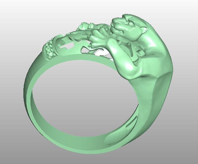 Ring CNC Router Relief Model STL Format 3D Model Artcam Type3 Cnc Engraving M206
