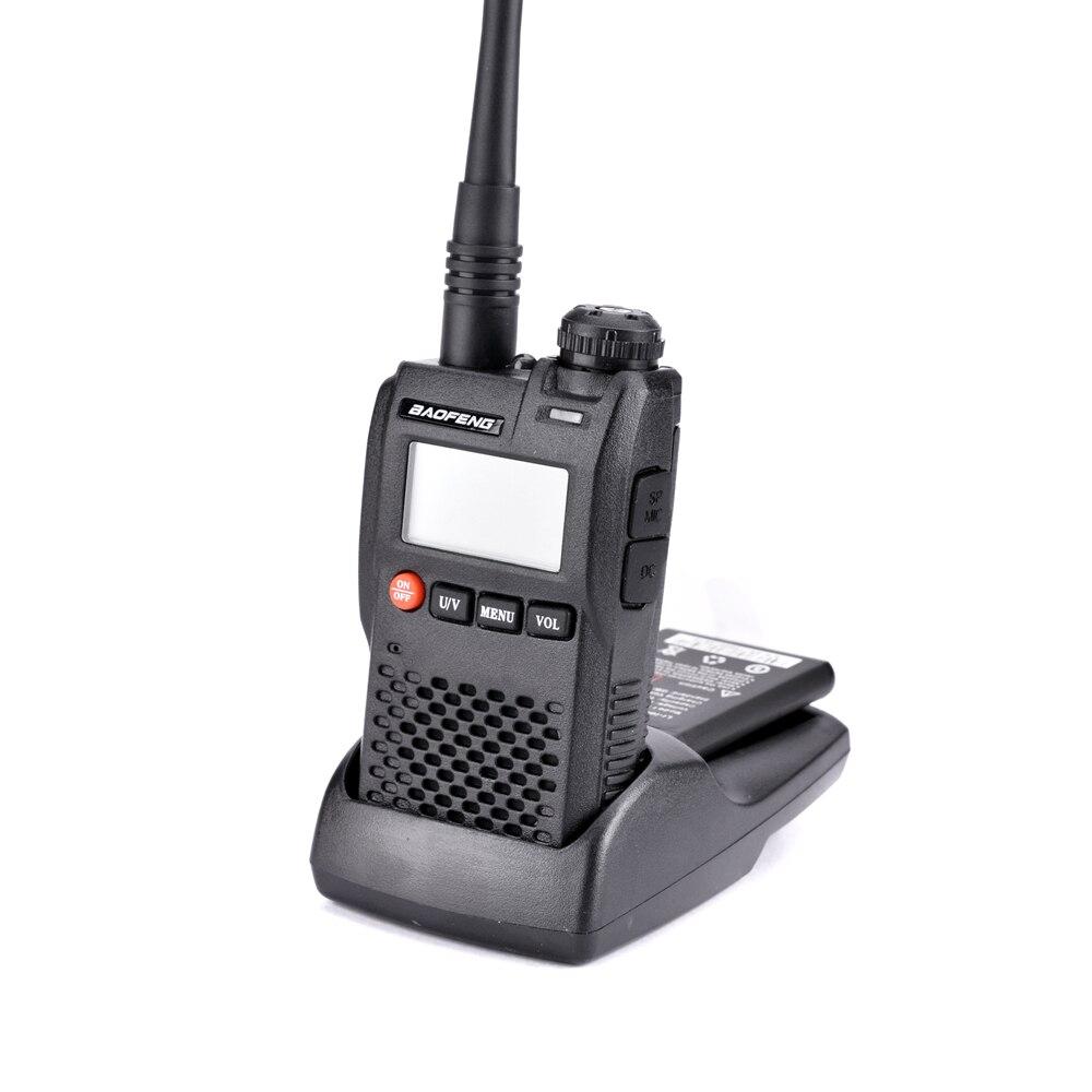 Image 5 - 100% Original Best Price Baofeng UV 3R Mini Walkie Talkie Dual Band VHF UHF Portable UV3R Two Way Radio Ham Hf Transceiver UV 3R-in Walkie Talkie from Cellphones & Telecommunications