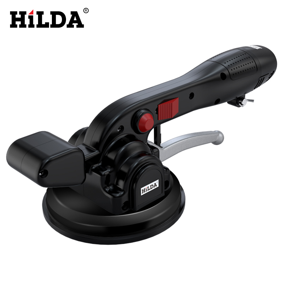 Hilda Tile Vibrator  Portable Tiles Floor Plaster Machine Tile Laying With Battery Automatic Floor Vibrator Leveling Tool