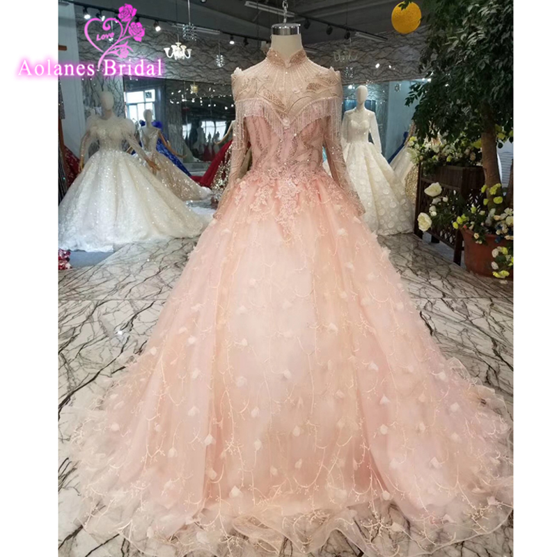 Sexy Lovely Pink Dubai   Prom     Dresses   2019 Aline Sweetheart Formal Evening Party Gowns Evening Wear Vestido De Festa Custom Made