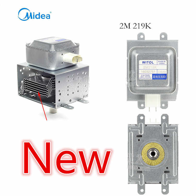new witol 2m219k magnetron microwave oven parts for midea microwave oven magnetron microwave oven spare parts