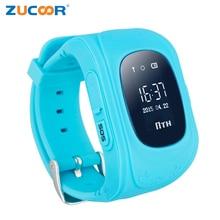 Хорошее Детские умные часы gps трекер детская монитор безопасности здоровья наручные часы GSM sim-карты для детей мальчиков и девочек PK q50 DZ09 GT08