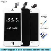 Mobymax LCD Screen For IPhone 4 5 5S 5C SE Touch Glass Display Digitizer Assembly Replacement