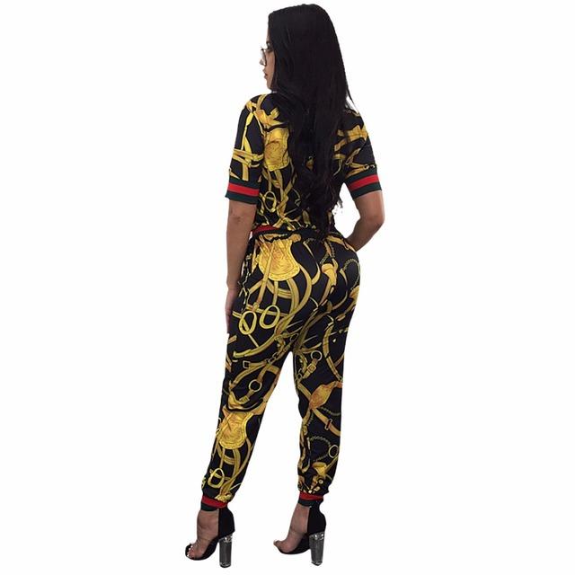 Long Pants Ladies Romper Plus Size