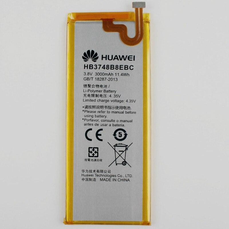 Battery For UL00/HB3748B8EBC Huawei 3000mah L03 L02 Ce C199 G7-TL100 RIO-AL00 L01 L11