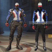 Soldier 76 Jack Morrison Cosplay Costume Game Hero Clothing Christmas Outfit Male Costume Cosplay Halloween Suit