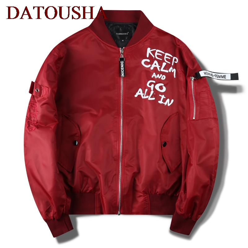 Bomber Jacket 2018 Spring Autumn Fashion Men Jacket Polit Outwear Men Army Green Casual Baseball Jacket Brand Veste Homme