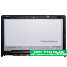 For Lenovo Yoga13 Yoga 13 LCD Touch Digitizer Assembly LP133WD2 SLB1 SLB1 With Bezel Frame
