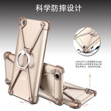 Oatsbasf x Форма чехол для Xiaomi MI5 Mi5S 5 6splus личности Shell Для Xiaomi 5S плюс металл границы металлический бампер случаях