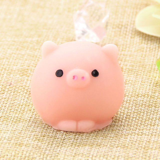 Pig Ball Squishy Slow Rising Kawaii Mini Mochi Bunny Phone Strap Squeeze Stretchy Cute Toy Gift ...