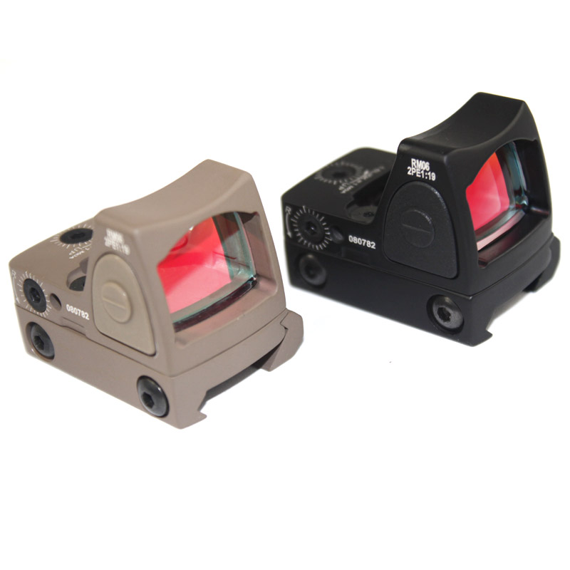 Tactical Hunting Optics Adjustable Mini Red Dot Sight Scope For Hunting Free Shipping
