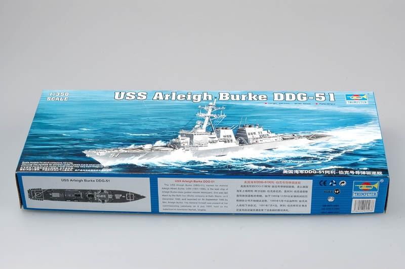 Trumpeter 04523 1/350 USS Arleigh Burke DDG-51Model Kit