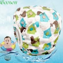Baby Swim Diaper One Size Swimming Trunks Cloth Nappy Baby Swimming Pants Swimwear Swim Diapers Swimsuit