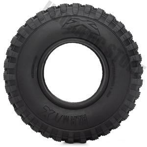 Image 2 - Pneus en caoutchouc de 1.9 pouces 105x35mm, ensemble de 4 pièces, pneus de voiture pour camion à chenilles RC 1/10, vodoo KLR Axial SCX10 90046 90047 AXI03007 RC