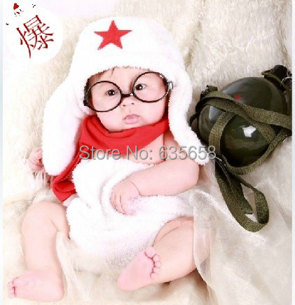 Hats glasses shorts sets new newborn toddler baby girl boy costume beanie photography taking
