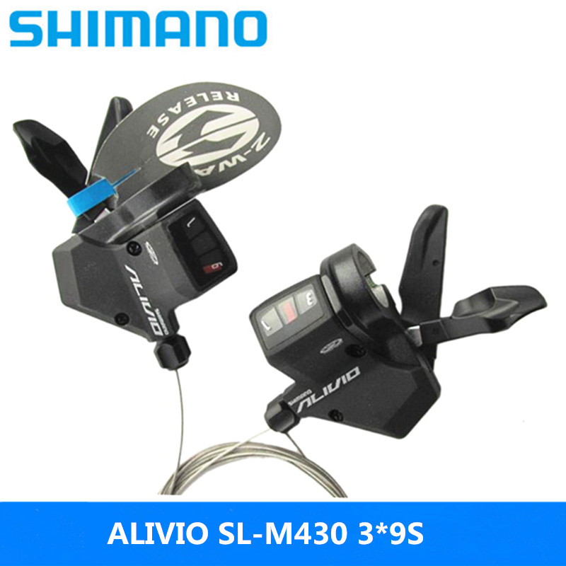 Shimano Alivio Sl-m430 Refers To Dial 3s/9s/27speed Mountain Bike Bicycle Split Dial Siamese Dial Black Original Free Shipping At All Costs Sports & Entertainment Bicycle Parts