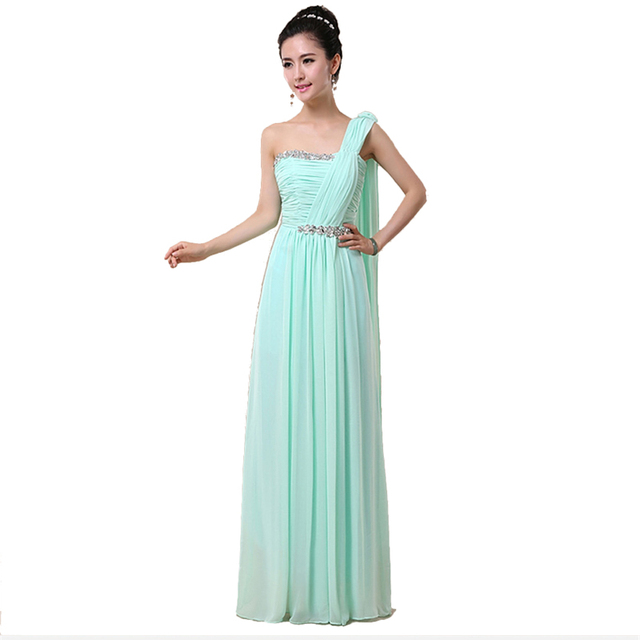 Cheap Ice Blue Red Pink Bridesmaid Dresses under $50 Long lace up ...