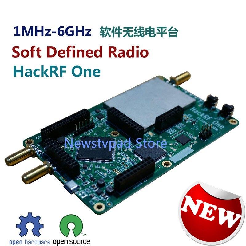 Новый hackrf один 1 мГц 6 ГГц SDR платформы Программы для компьютера определены Радио развитию + TCXO тактовый генератор модуль