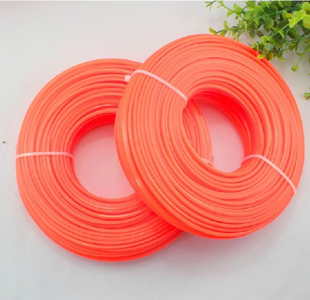 HIgh quality 100 meters 2.4mm 3.0mm Trimmer line , Nylon line, brush cutter  parts  for Brush cutter,Grass Trimmer mini garden nylon grass trimmer line light purple 15m