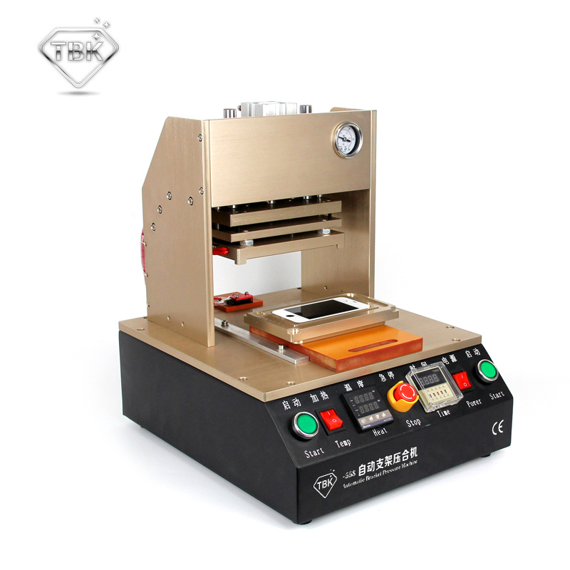 все цены на TBK-558 Frame Laminator Automatic Pressure Bracket Laminating For Iphone 4 /5/6/6s/7/7P Vacuum Pump Lcd Repair Machine