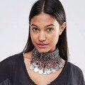 Dvacaman Moda Boho Étnico Colgante Accesorio de la Joyería Declaración Collar de Las Mujeres de La Vendimia Maxi Bijoux Femme 7138