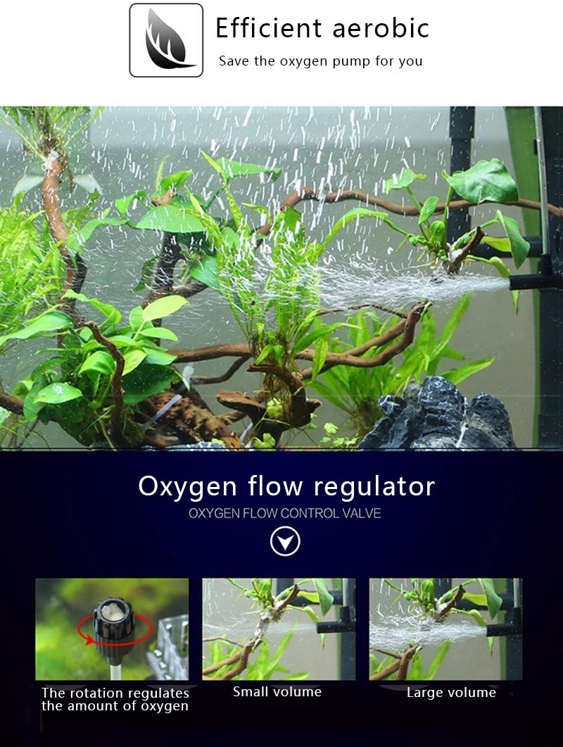 Sunsun Aquarium Surface Protein Skimmer 3W 5W 220V Oil Film Processor Remover Fish Tank Filter JY02 JY03 2