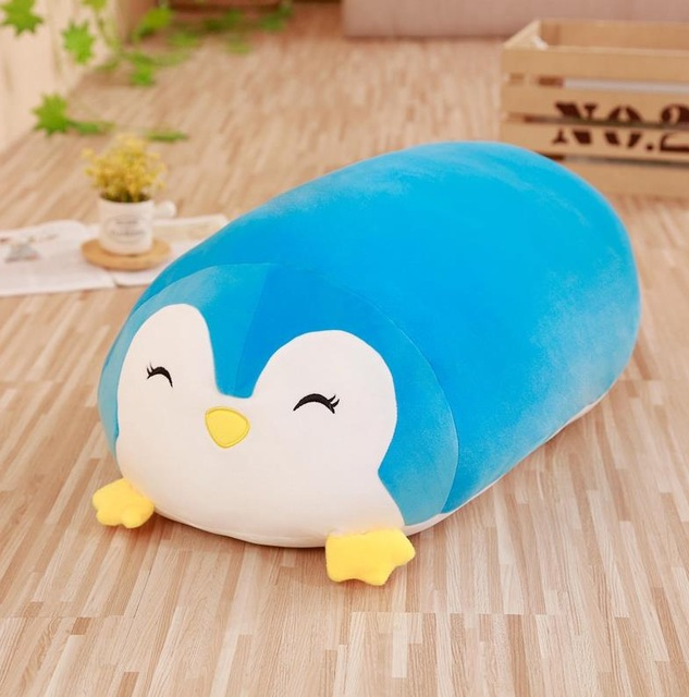 Image 4 - 30/60cm Soft Animal Cartoon Pillow Cushion Cute Fat Dog Cat Totoro Penguin Pig Frog Plush Toy Stuffed Lovely kids Birthyday Gift-in Stuffed & Plush Animals from Toys & Hobbies
