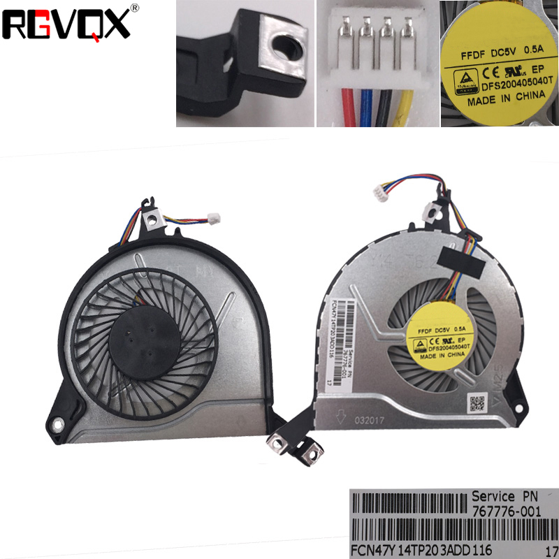 Купить с кэшбэком New Original Laptop Cooling Fan For HP Pavilion 14-V 15-V series PN:EF75070S1-C130-S9A DFS531105MC0T FB06008M05SPA-001