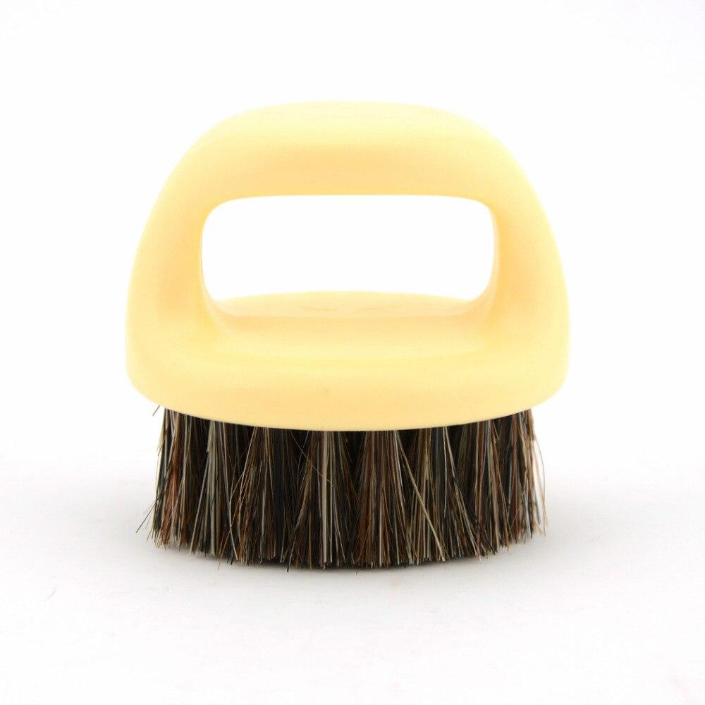 Zy Mustache Beard Shaving Brush Natural Horse Bristle