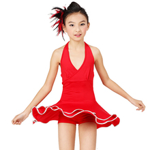 Dress For Dancing Black/Red Ballroom Dance Dress Girls S-XXL Girls Latin Dresses 2016 New Girls Dance Costumes Free Ship