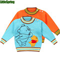 XLS LittleSpring Retail! children's winter autumn clothes kids boys girls casual outerwear sweatshirt cartoon bear top