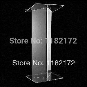 Hot acrylic podium pulpit lectern/customized acrylic podium pulpit lectern/acrylic podium pulpit lectern manufacturer pulpit furniture free shipping beautiful simplicity cheap acrylic podium pulpit lectern acrylic pulpit
