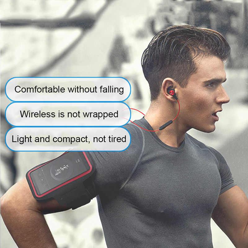 Oryginalny HUAWEI Honor AM61 bezprzewodowe słuchawki ze sportowym ramieniem Smartphone ochronny kolor magnetyczny projekt zestaw słuchawkowy Bluetooth 4.1