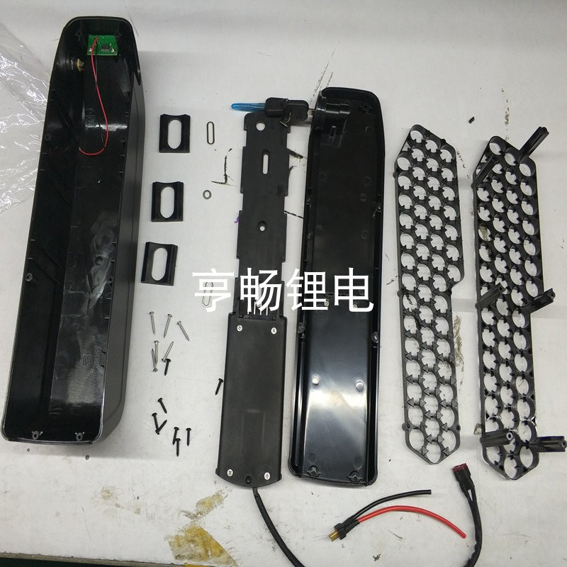 e bike lithium battery box hailong new kettle style for 48v battery pack with 18650 holder