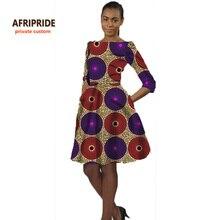 2017 africain robe pour femmes style décontracté vêtements traditionnels africains robe africaine vêtements bazin riche femme dashiki A722504